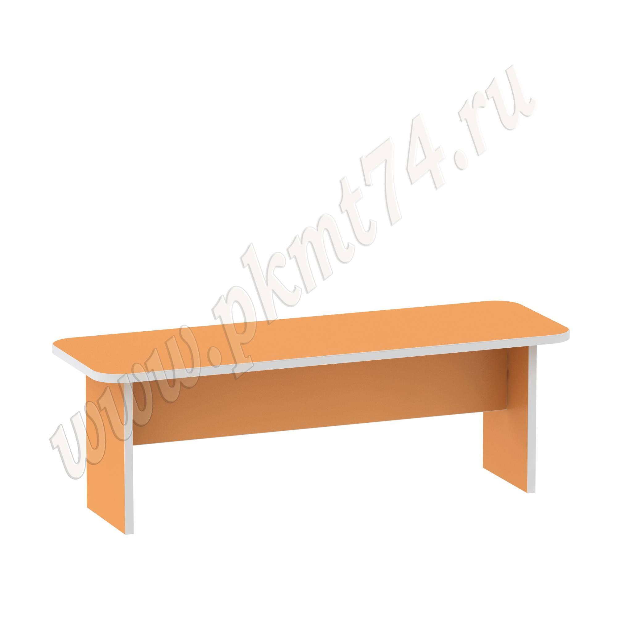 Банкетка для детского сада МТ 17-72 Оранжевый