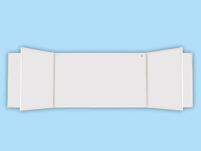 Доска аудиторная пятиэлементная белая 54 Б