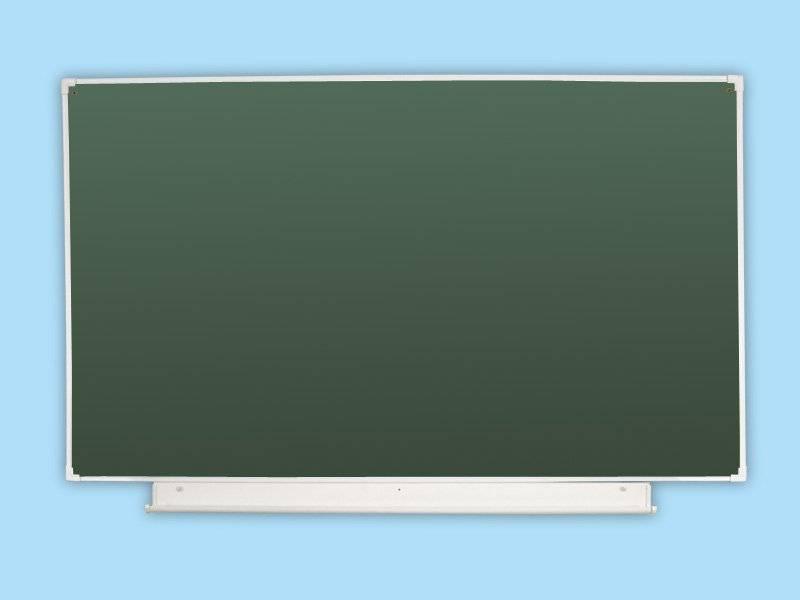 Доска школьная одноэлементная зеленая 18 З