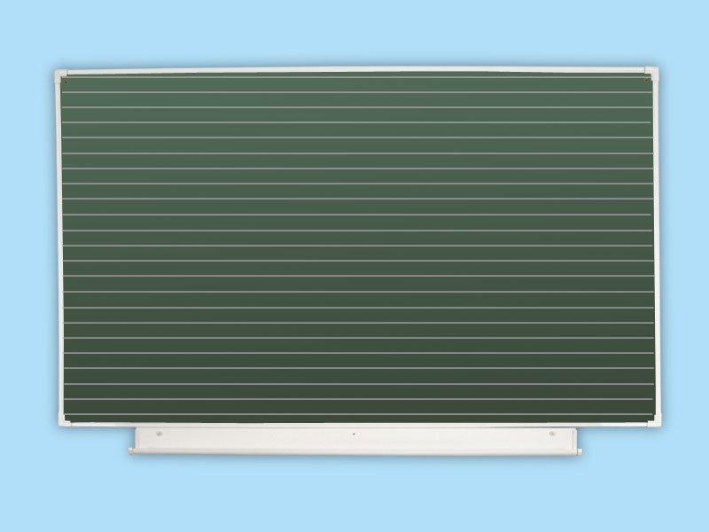 Доска школьная одноэлементная зеленая в линейку