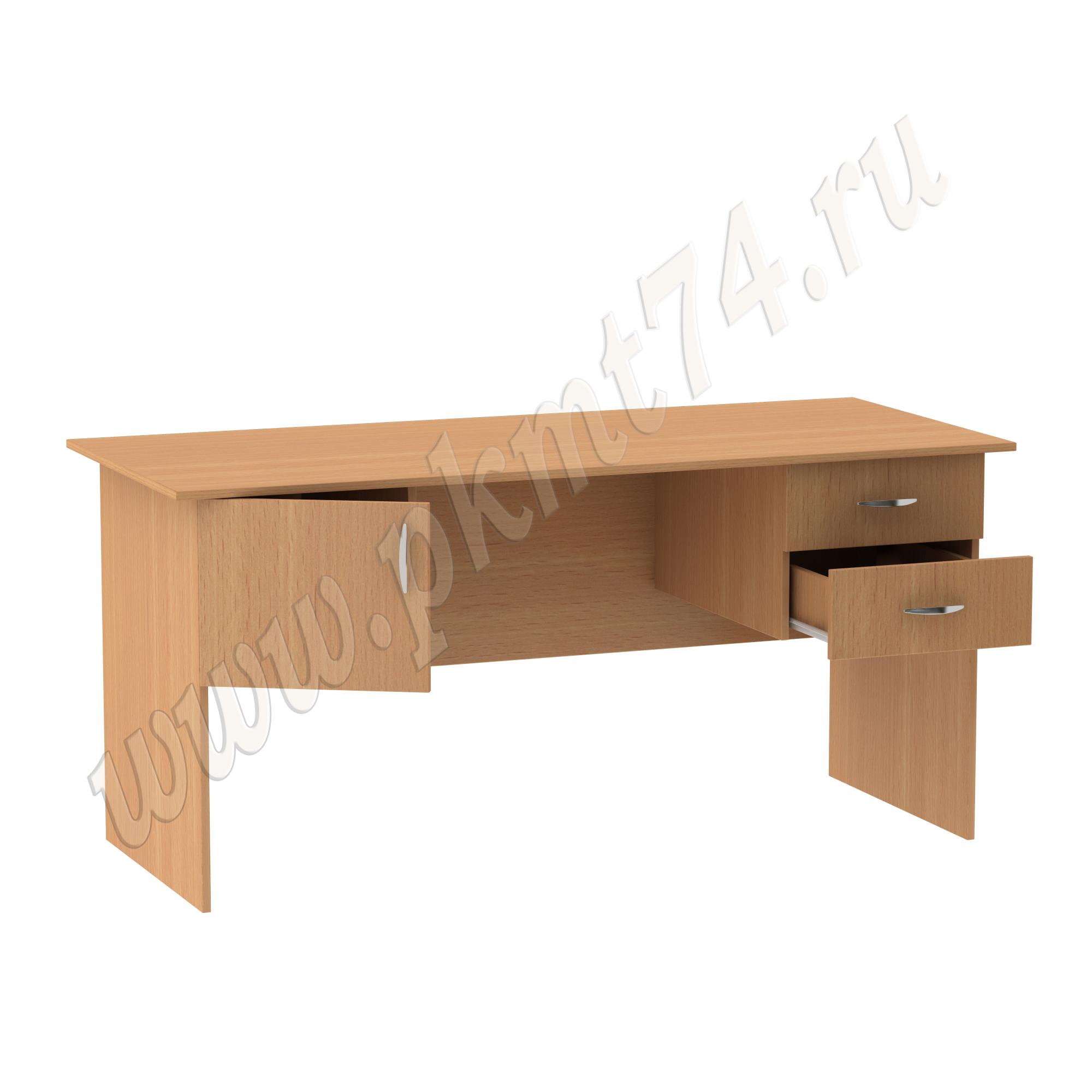 Двухтумбовый стол МТ 06-11 Бук