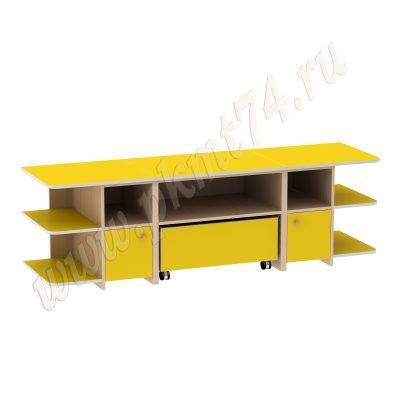 Игровой детский стол МТ 17-47 ДубМол+Жёл