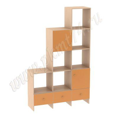 Книжный уголок МТ 17-38 ДубМол-Оранж