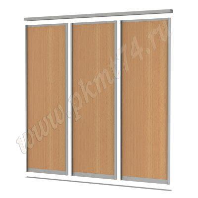 Комплект раздвижных дверей для шкафа МТ 101-4 Бук Бавария светлый
