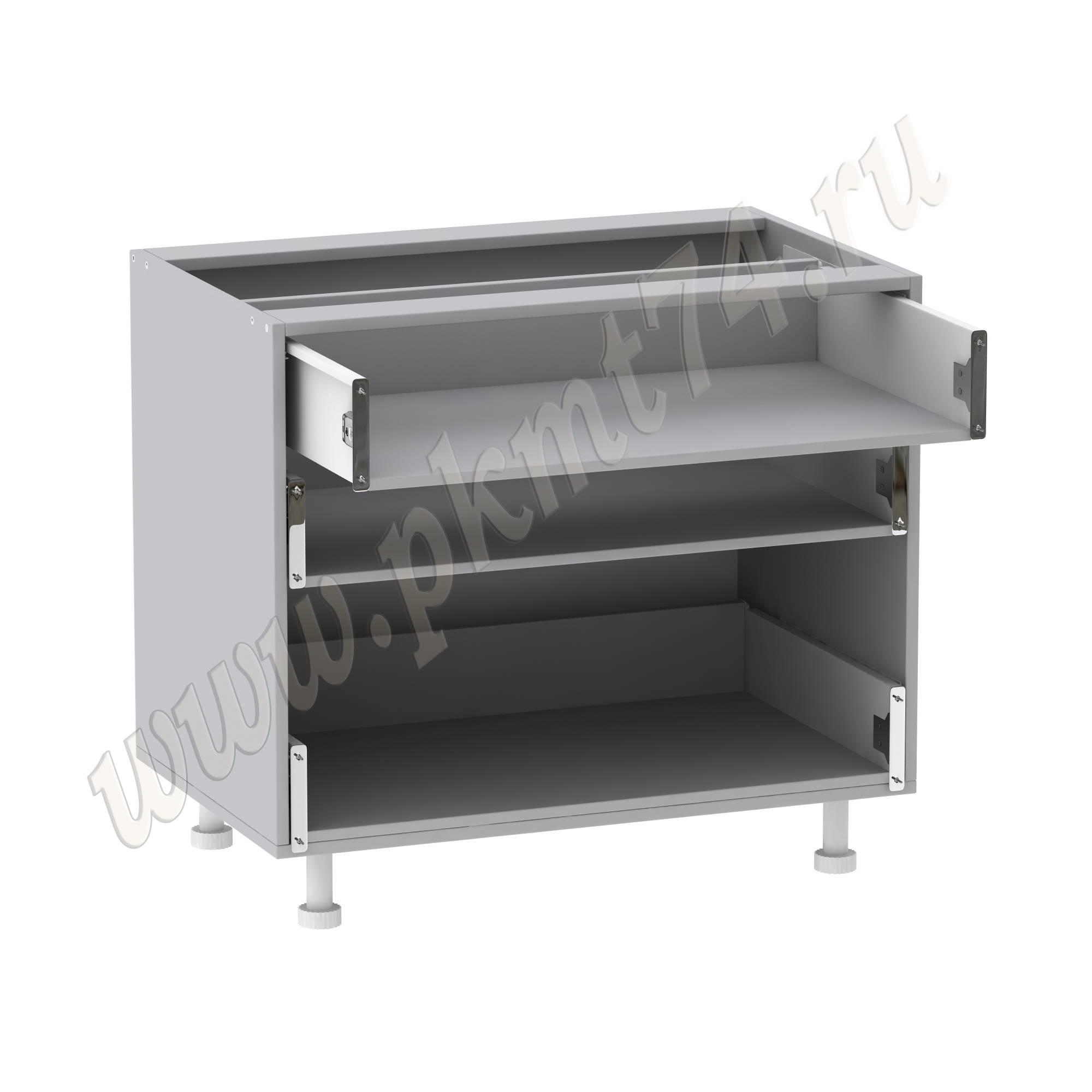 Корпус кухонного шкафа с ящиками без фасадов МТ 33-13