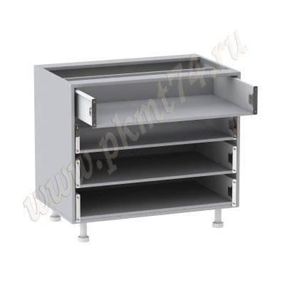 Корпус кухонной тумбы с четырьмя ящиками МТ 33-22