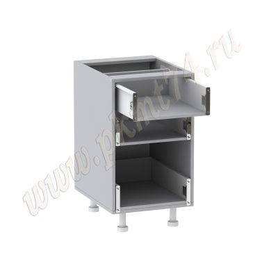 Корпус узкого шкафа с ящиками без фасадов МТ 33-15