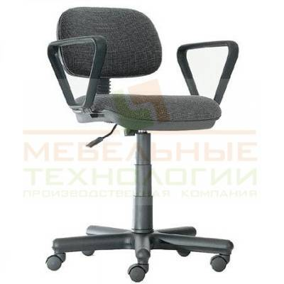 Кресло оператора Сеньор с подлокотниками