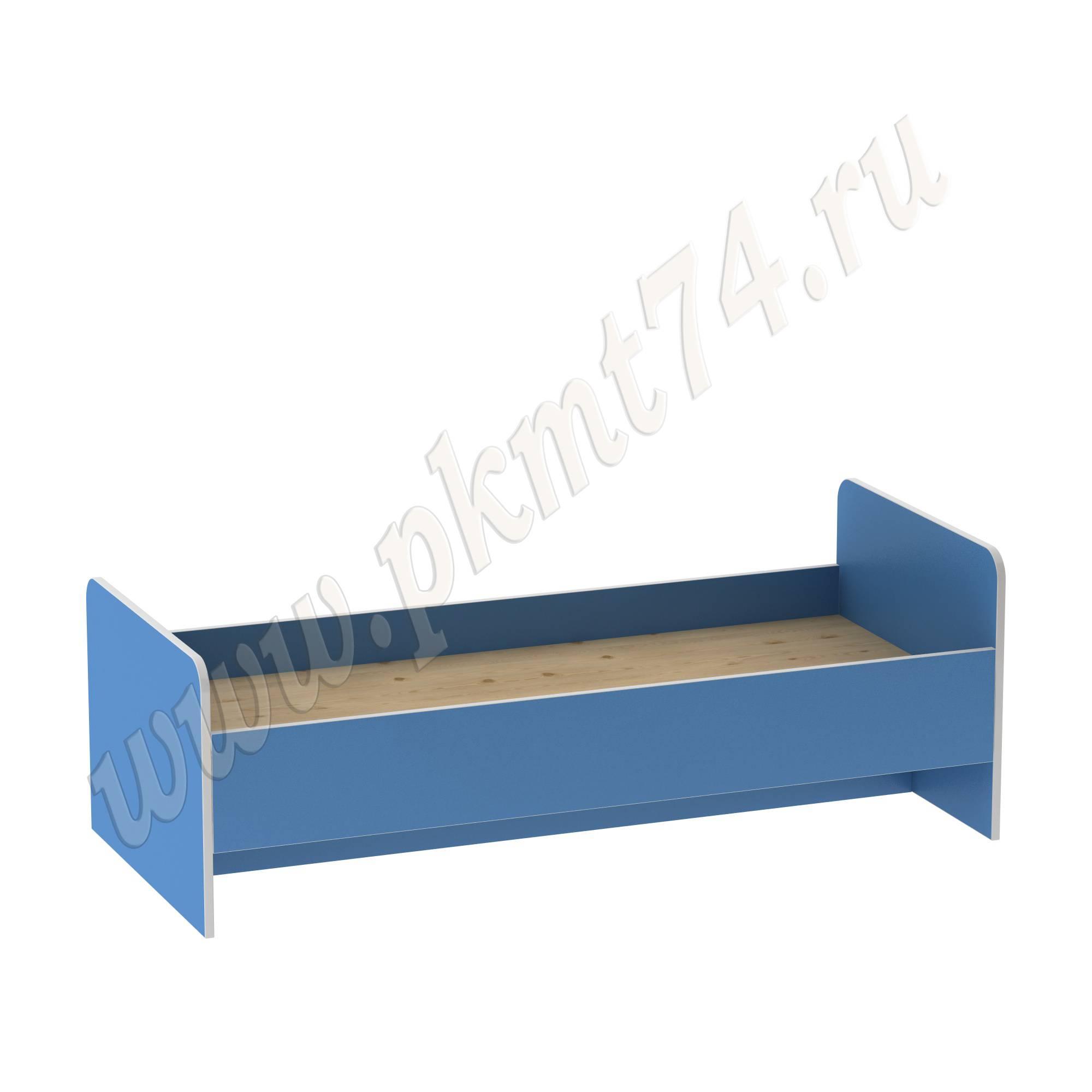 Кровать детская МТ 17-21 Светлосиний