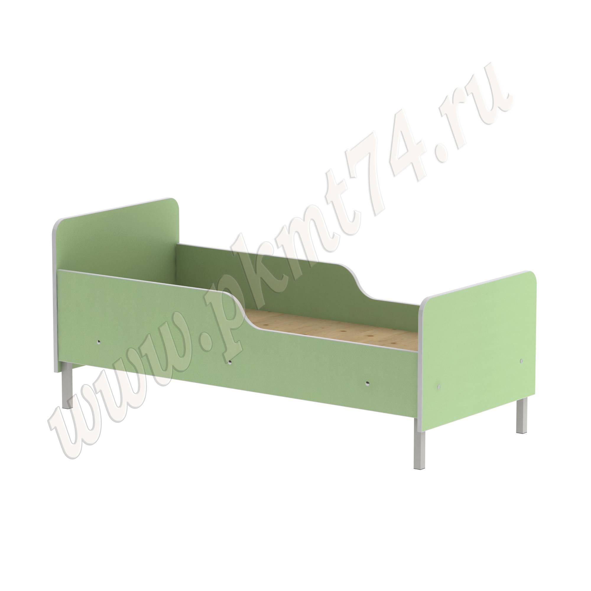 Кровать детская на каркасе МТ 17-95 Зелёный