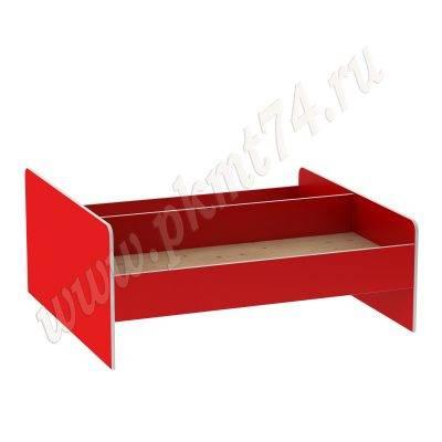 Кровать для детского сада двухспальная МТ 17-39 Красный