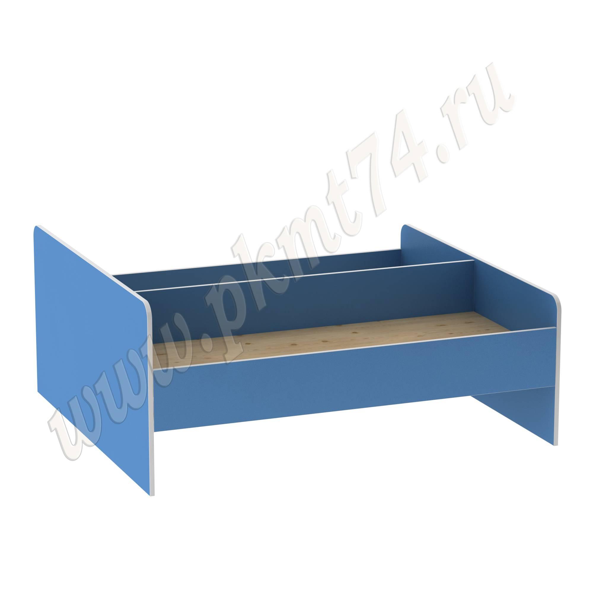 Кровать для детского сада двухспальная МТ 17-39 Голубой