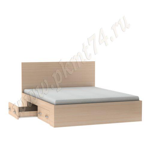 Кровать с ящиками в спальню MT-28-3-DubMol-1