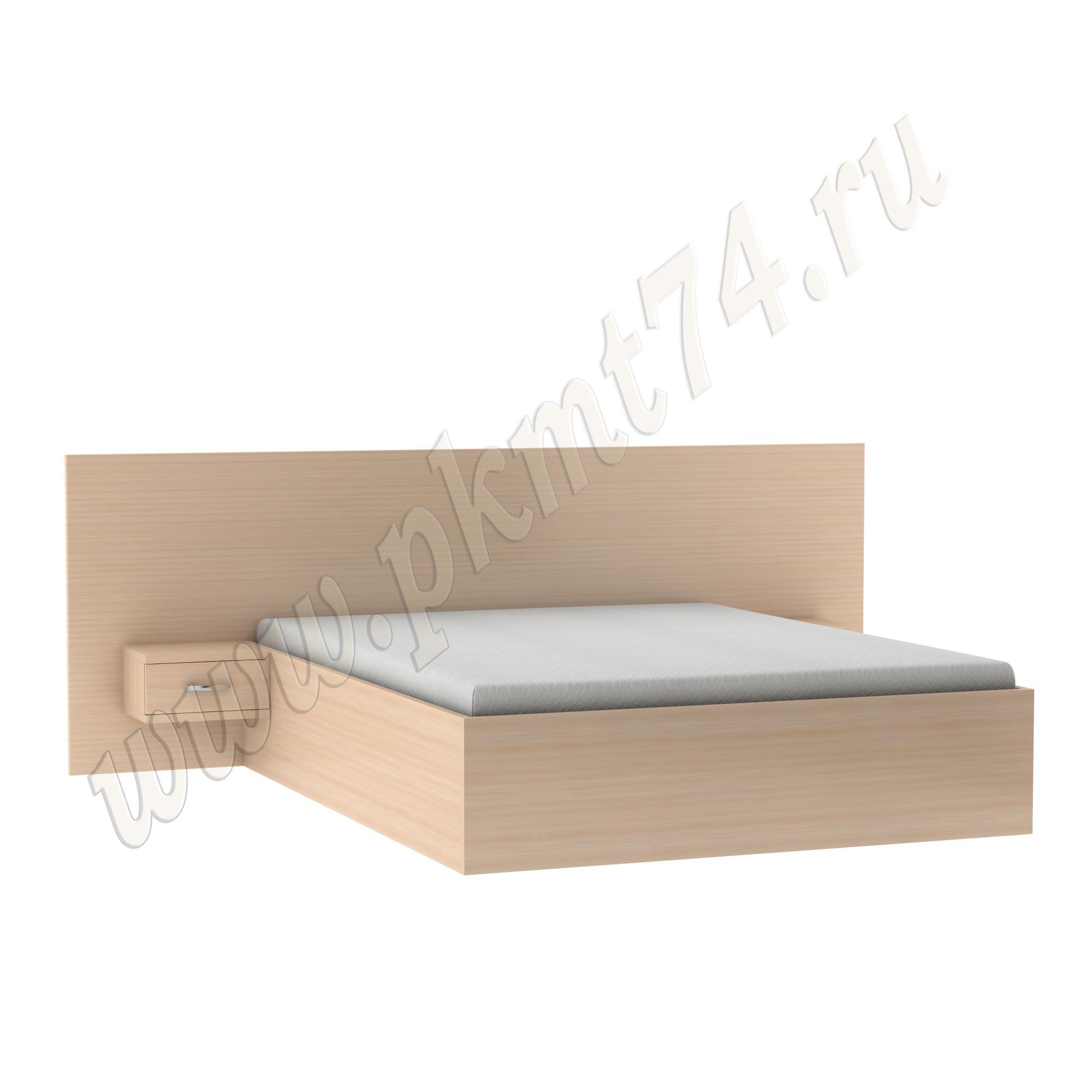 Кровать в спальню с тумбами MT 28-2 Дуб мол.