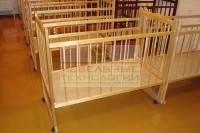 Кровати Мишутка в детском саду