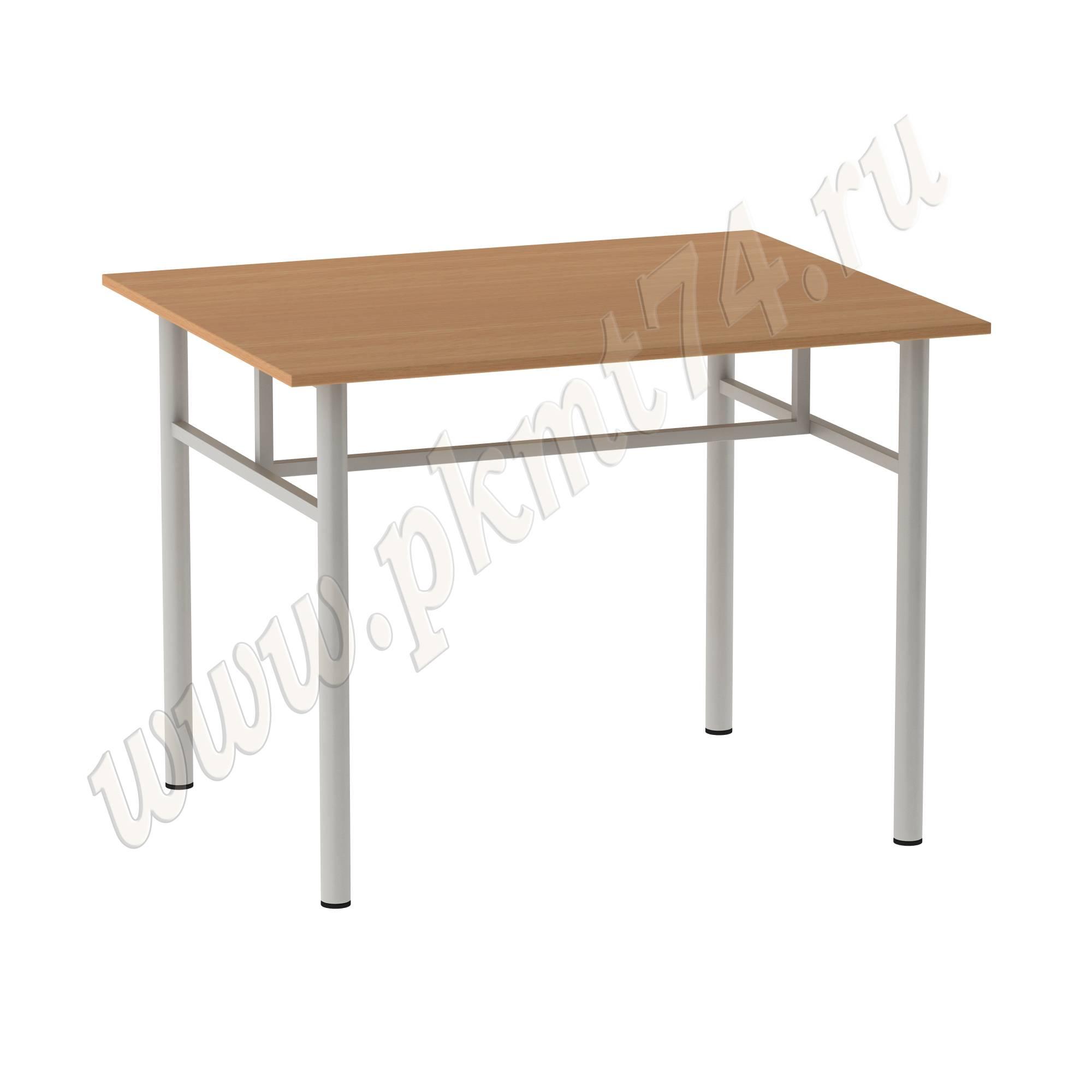 Кухонный стол на разборном металлическом каркасе
