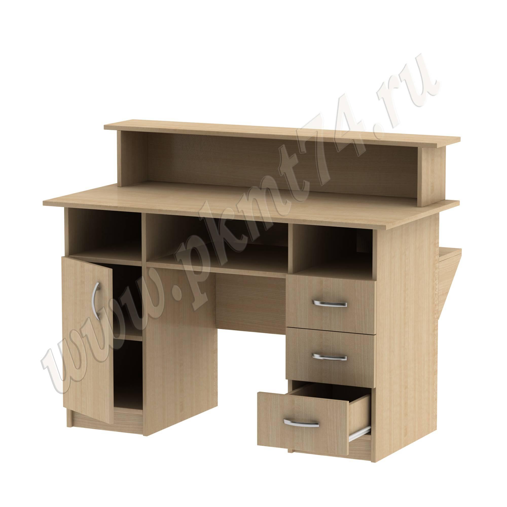 Стол библиотечный с тумбами [Цвет ЛДСП:: Клён]