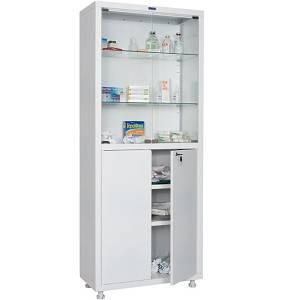 Металлические медицинские шкафы