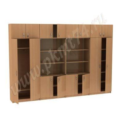 Набор из четырех шкафов с антресолями МТ 14-34-10 Бук-1