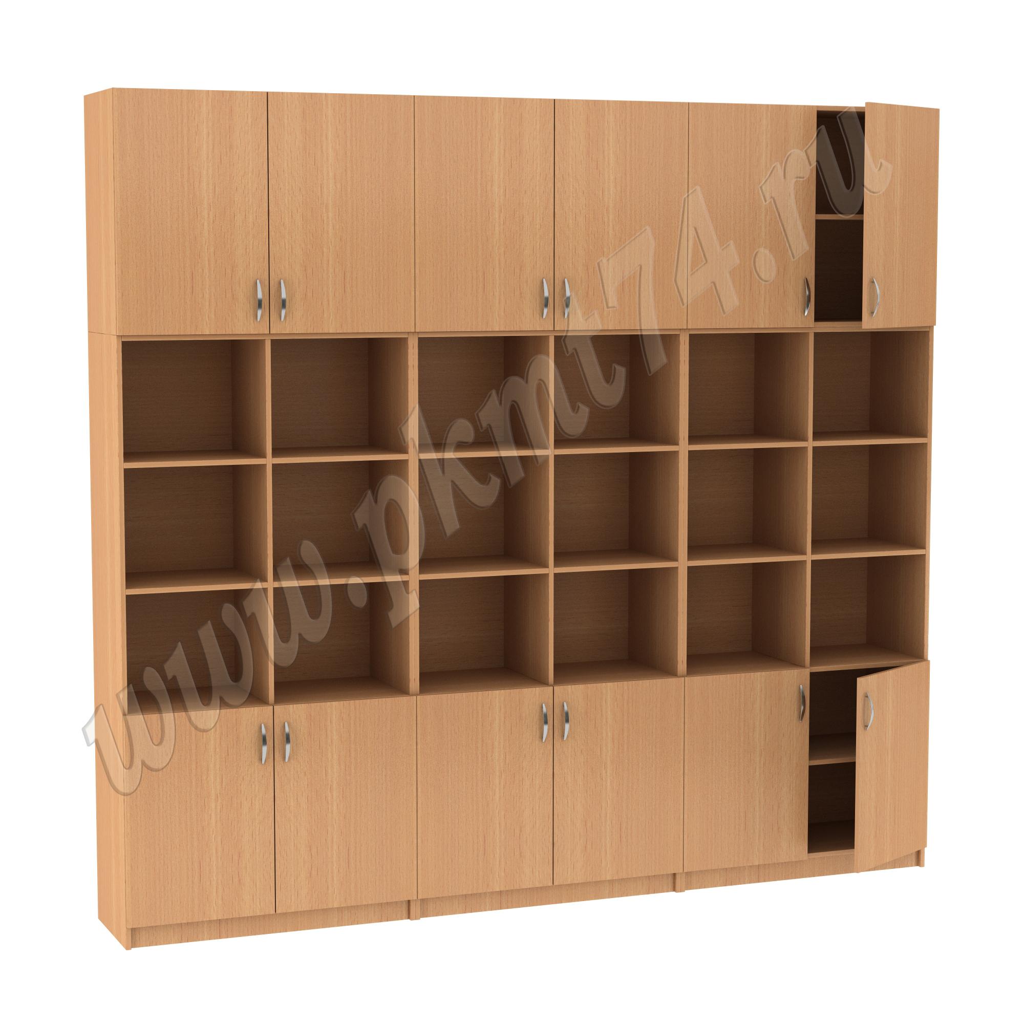 Набор шкафов с антресолями MT 14-34-14 Бук