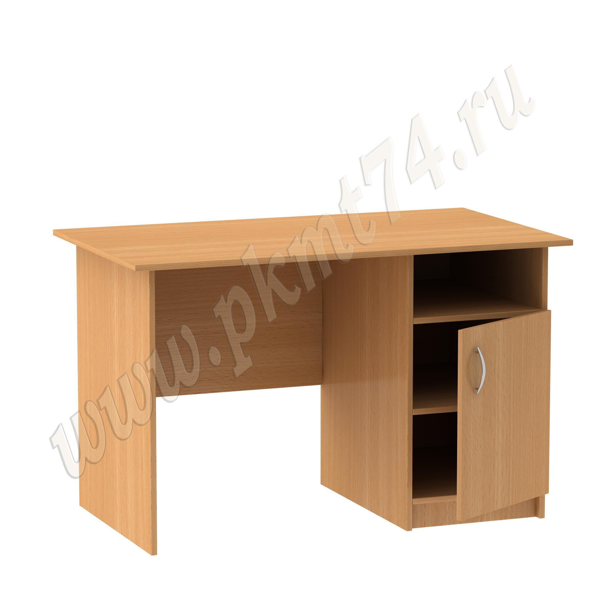 Однотумбовый письменный стол МТ 06-7 Бук