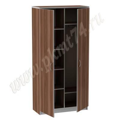 Шкаф комбинированный офисный MT 14-10 Слива-Алюминий