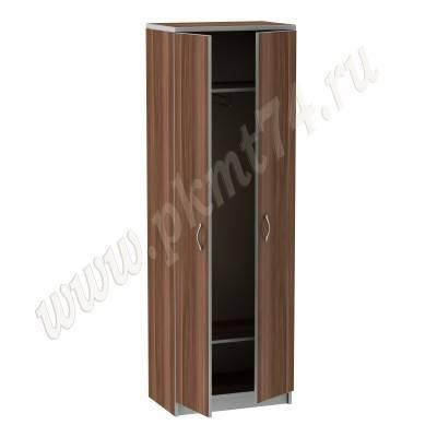 Шкаф для одежды в офис с выкатной штангой MT 14-6 Слива-Алюминий