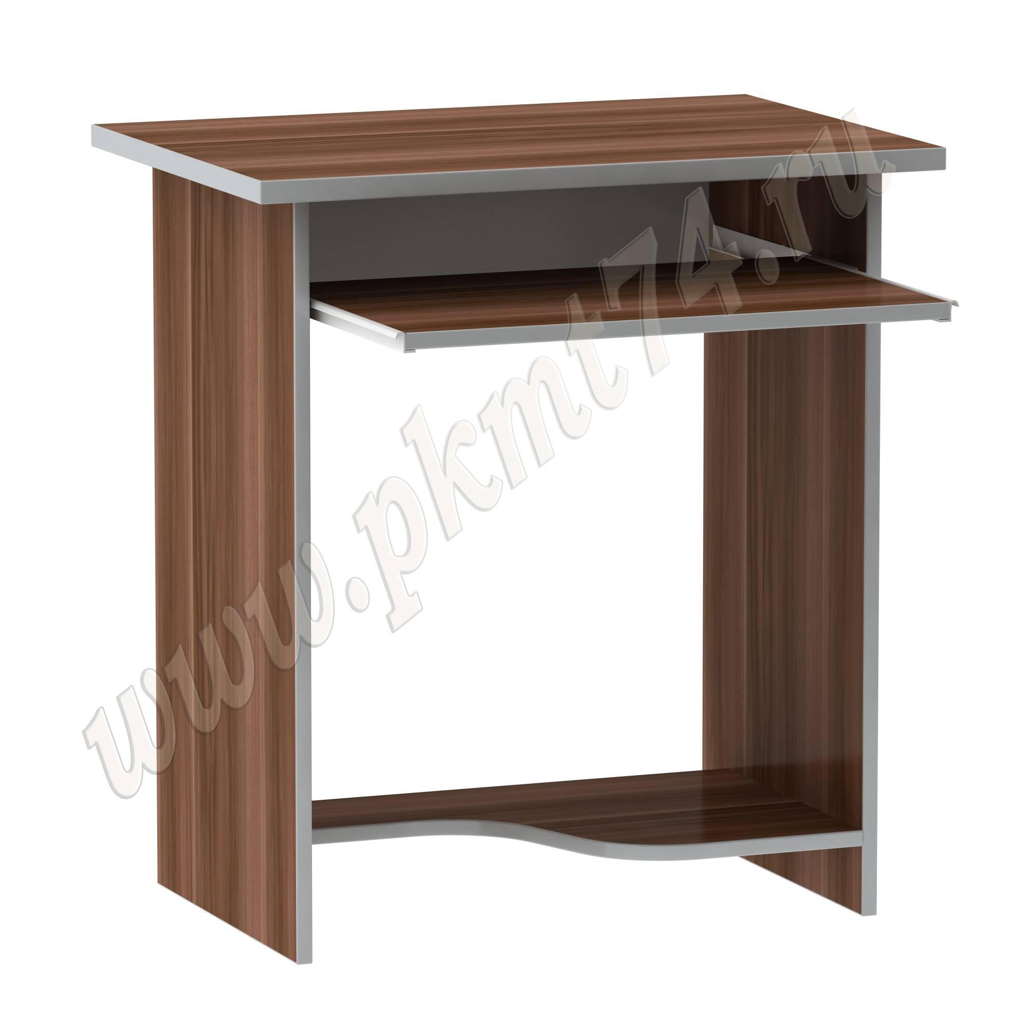 Компьютерный стол MT 07-7 Слива-Алюминий