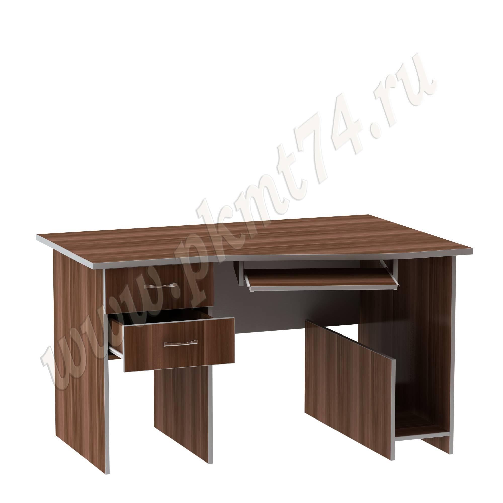 Компьютерный стол для офиса угловой MT 07-9 Слива-Алюминий