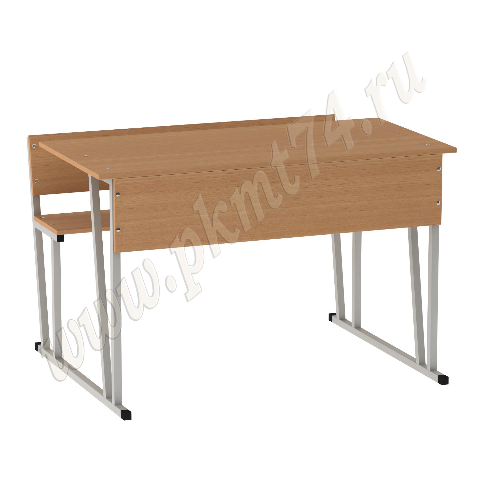 Парта ученическая со скамейкой МТ 01-6 Бук