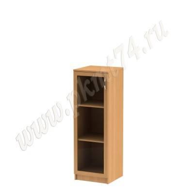 Пенал со стеклянной дверкой в рамке