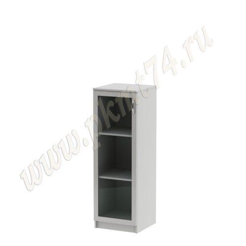 Пенал со стеклянной дверкой MT 13-7 Серый