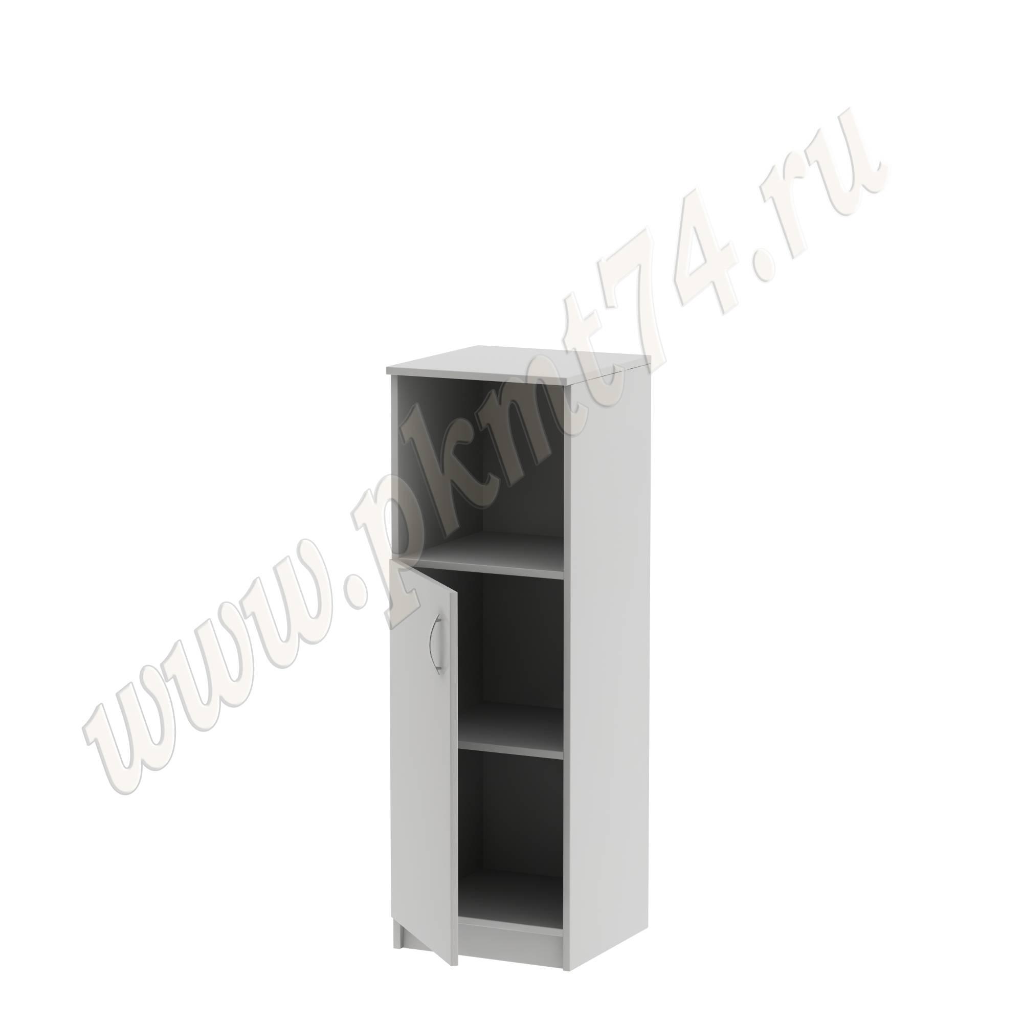 Пенал с нишей и дверкой серый MT 13-3 серый