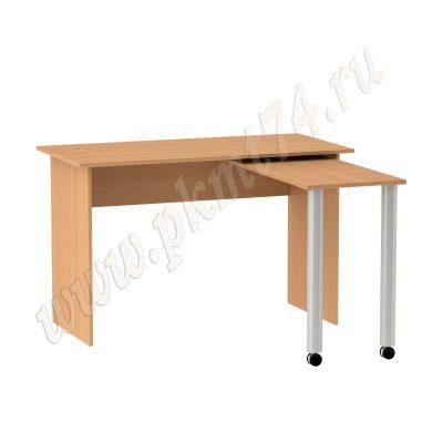 Раздвижной стол для общежития МТ 06-26 Бук № 2