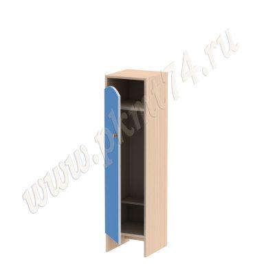 Шкаф для детской одежды Волна 1 без короба МТ 17-99 Дуб Молочный-Голубой