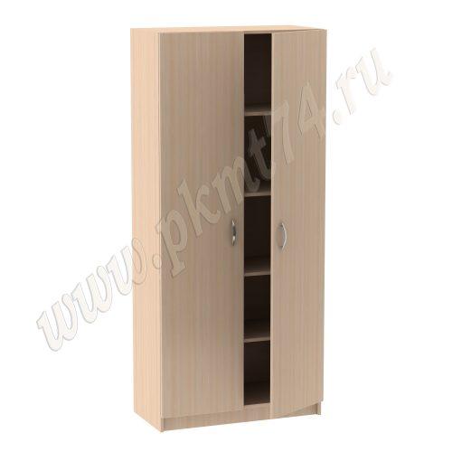 Шкаф для документов с дверками MT-14-3-Dub-Mol