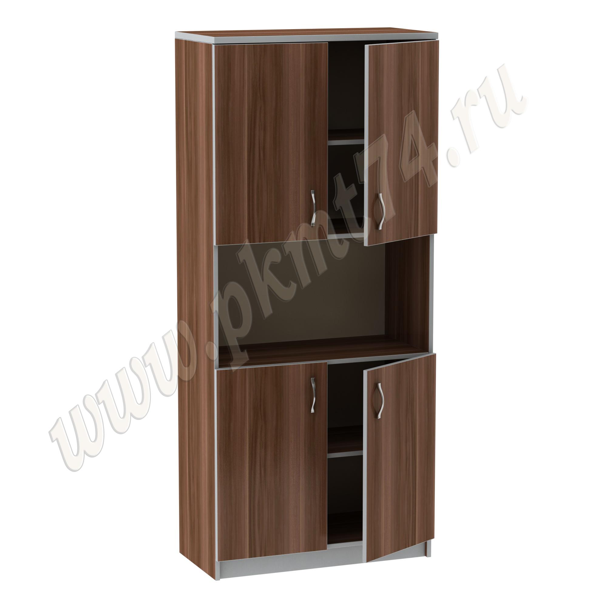 Шкаф для документов с нишей MT 14-36 Слива-Алюм
