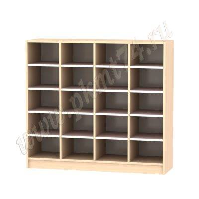 Шкаф для горшков МТ 17-41 ДубМол-Розовый