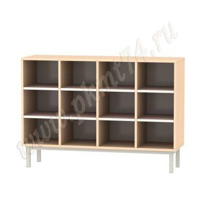 Шкаф для горшков на каркасе МТ 17-81 ДубМол-Ирис