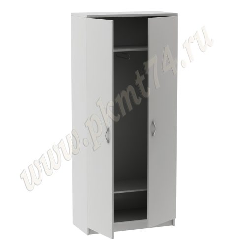 Шкаф для одежды со штангой MT 14-7 Серый