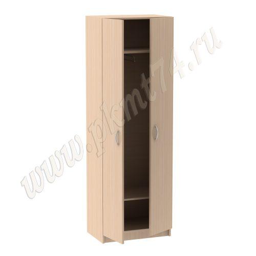 Шкаф для одежды узкий, с выкатываемой штангой MT-14-6-Dub-Mol