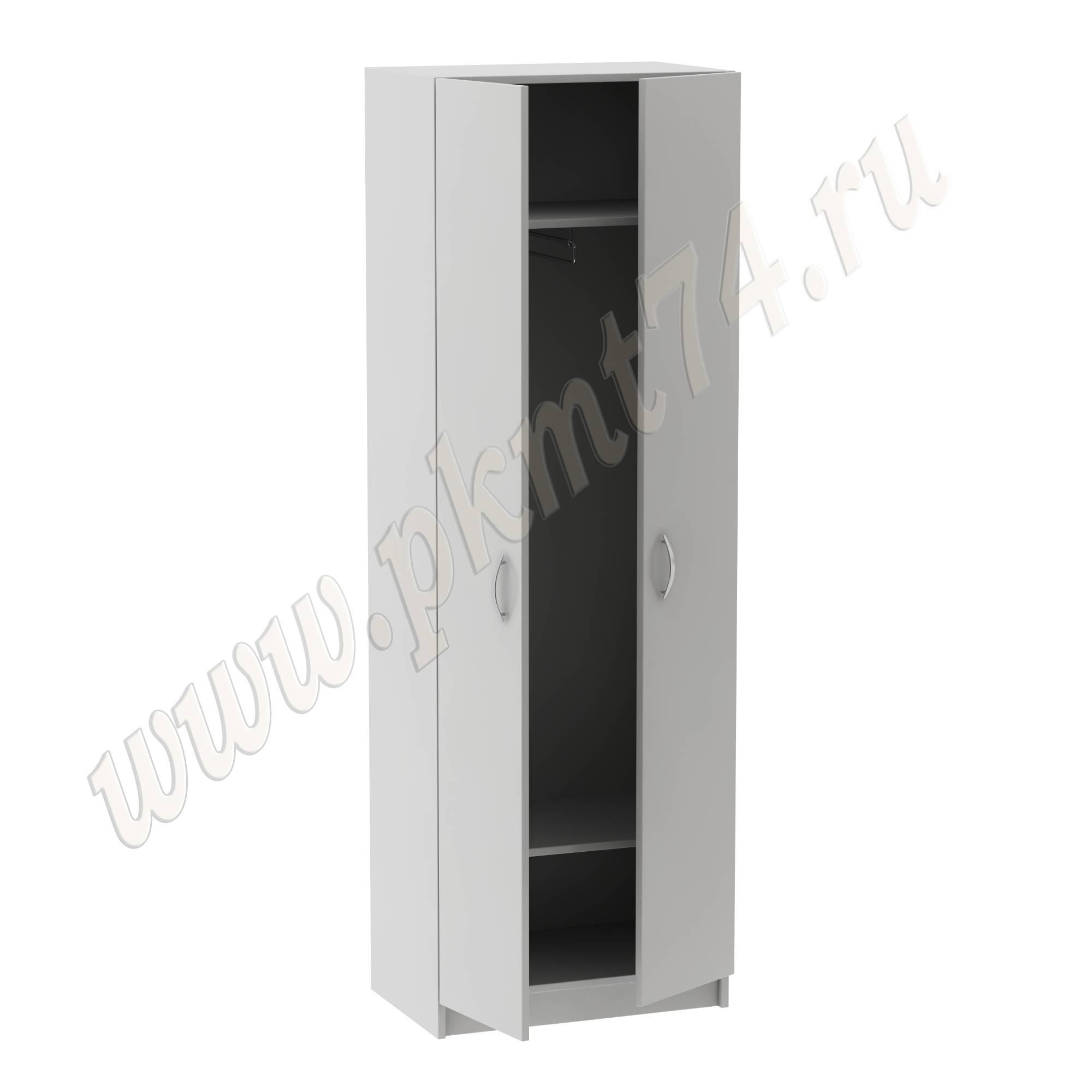 Шкаф с выкатной штангой для одежды MT 14-6 Серый