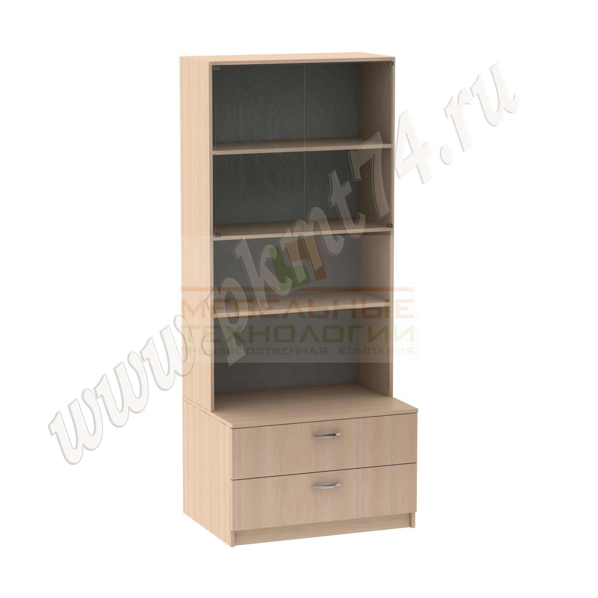 Шкаф для школьного музея [Цвет ЛДСП:: дуб Молочный]