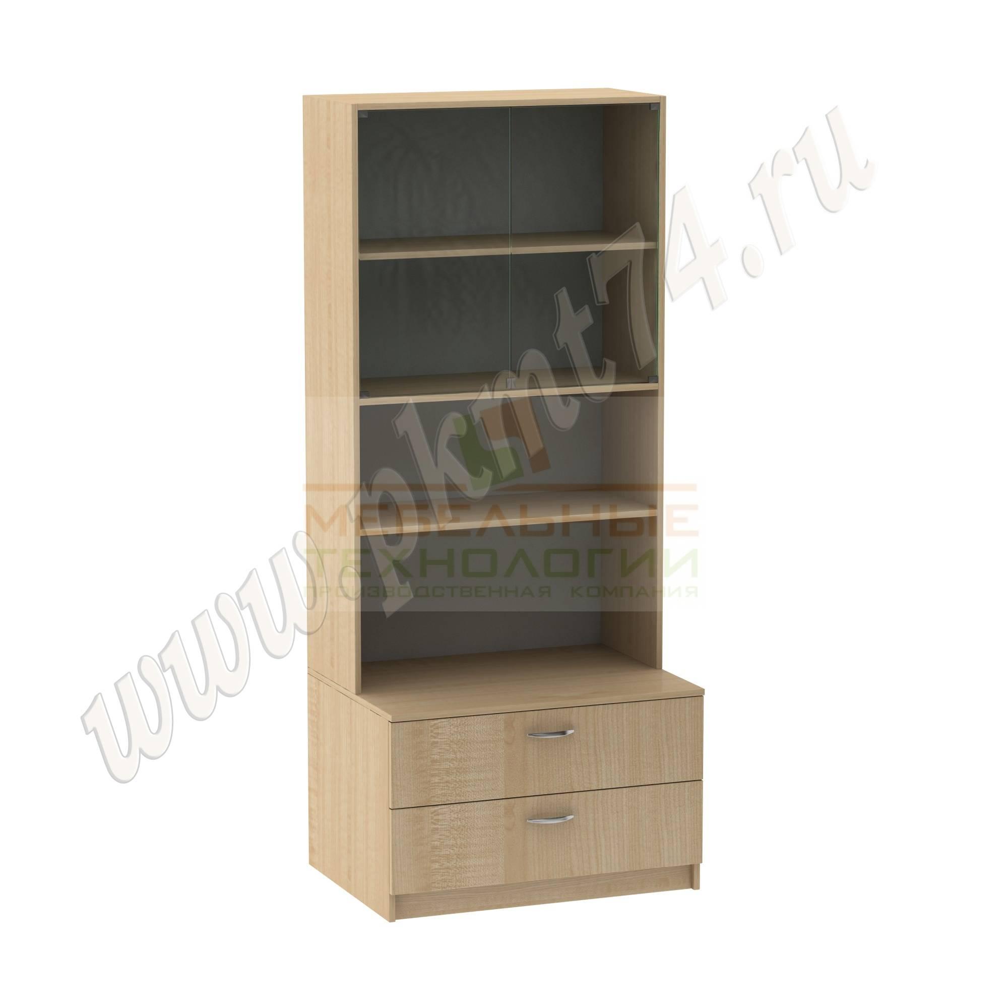 Шкаф для школьного музея [Цвет ЛДСП:: Клён]