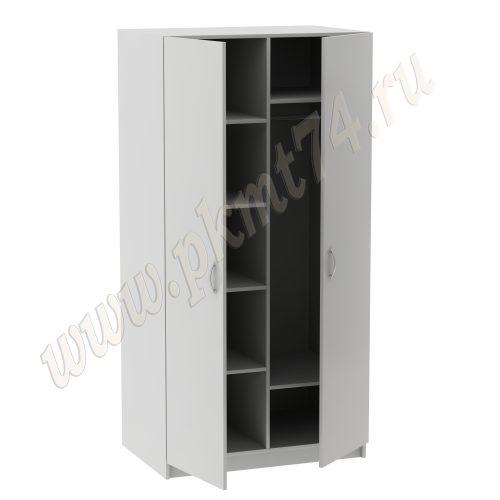 Шкаф комбинированный для одежды и документов MT 14-13 Серый