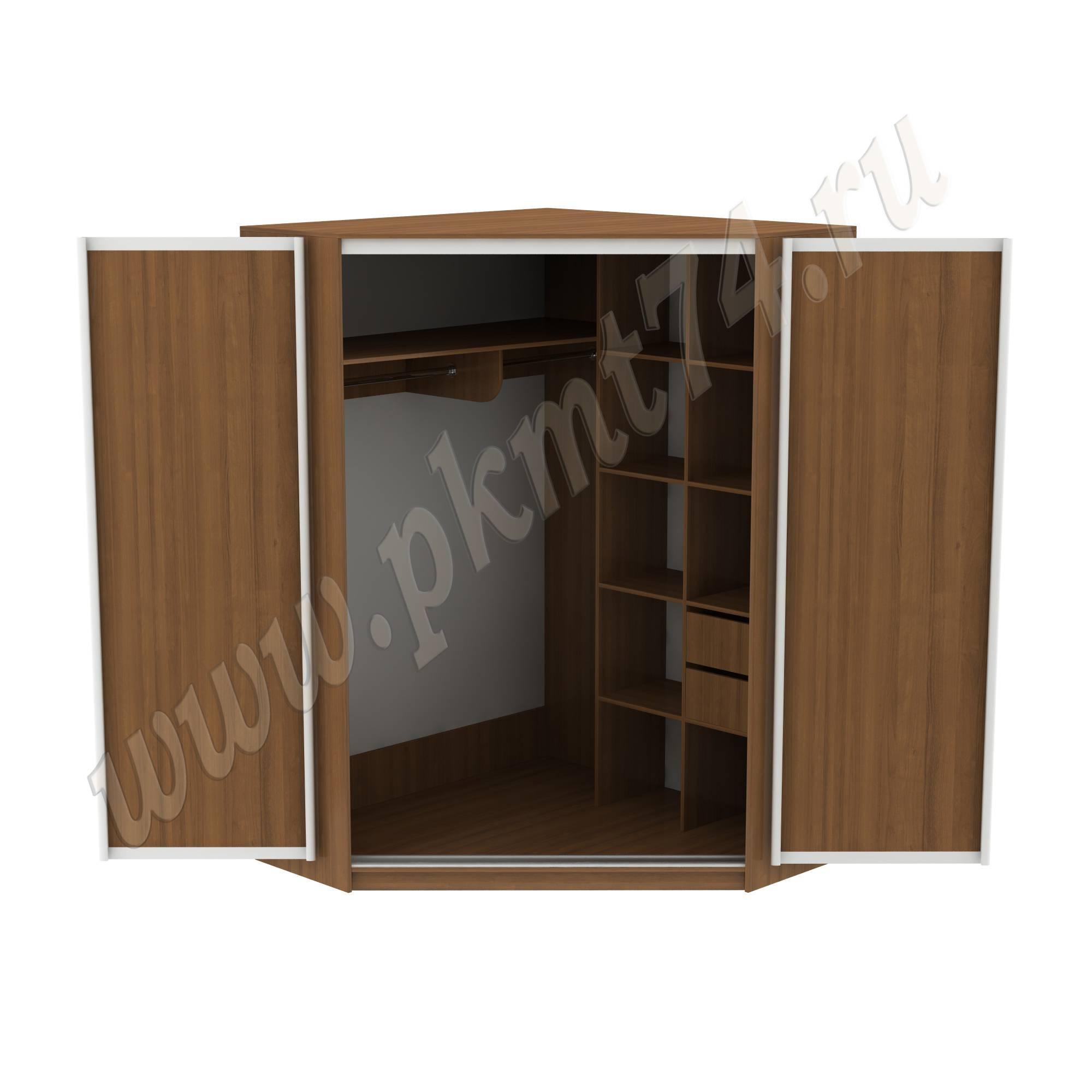 Шкаф купе угловой МТ 15-20 Орех