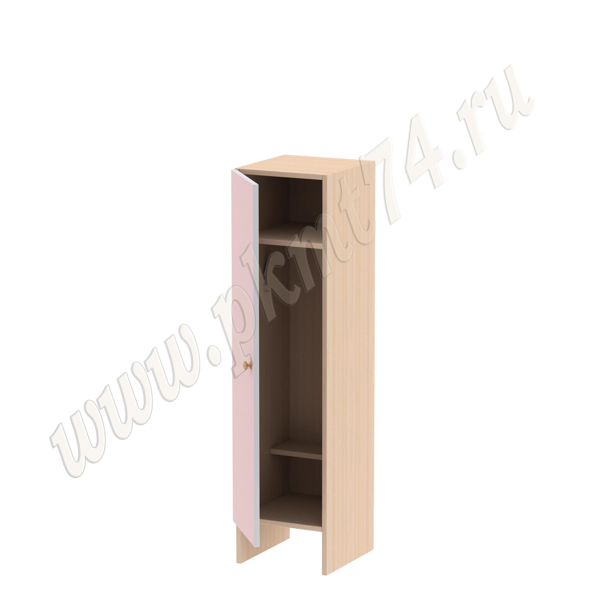 Шкаф одностворчатый без короба МТ 17-13 Дуб Молочный-Ирис