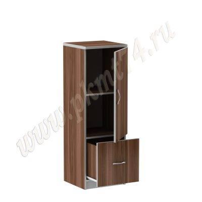 Шкаф пенал для офиса MT 13-6 Слива-Алюминий
