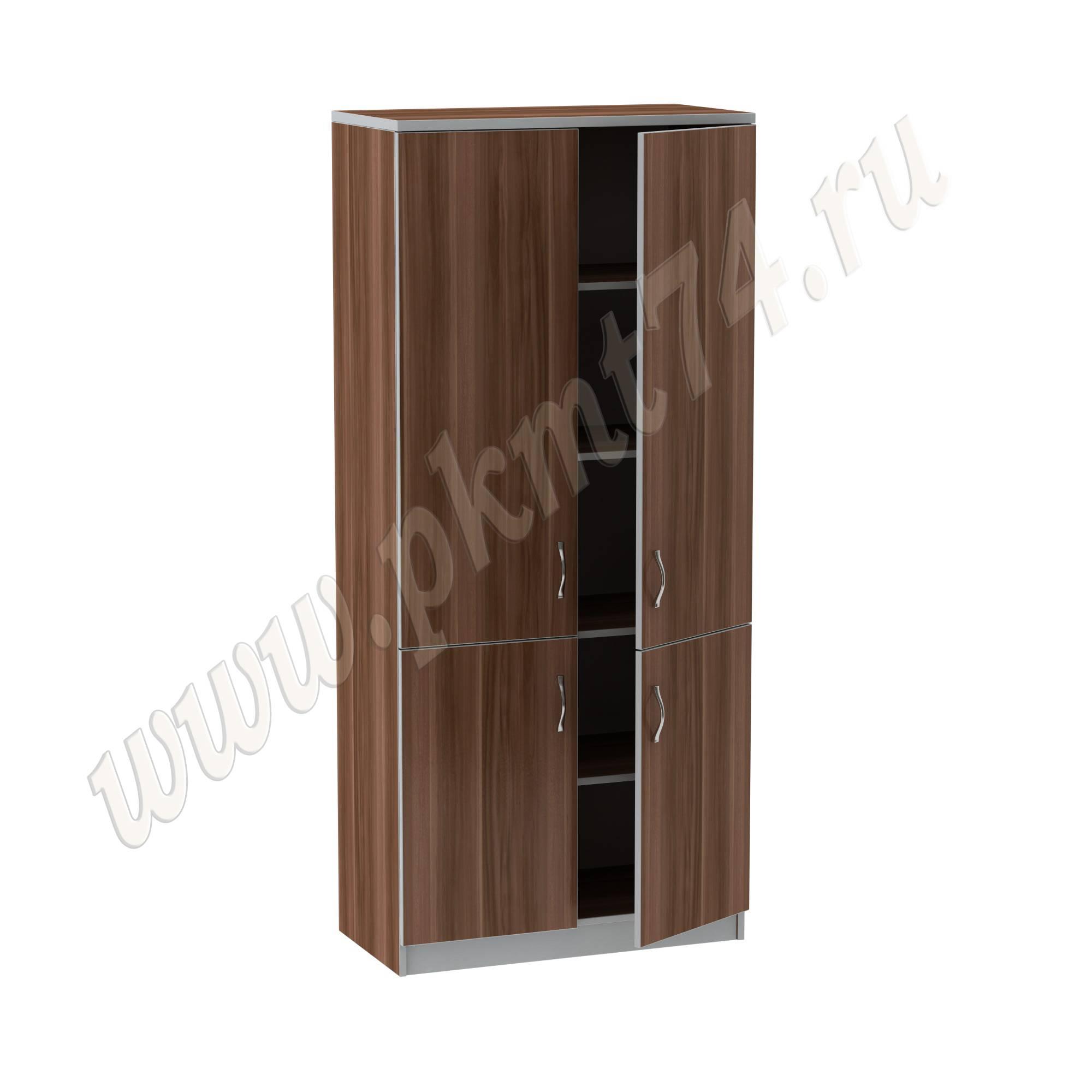 Шкаф с полками для документов МТ 14-24 Слива-Алюминий