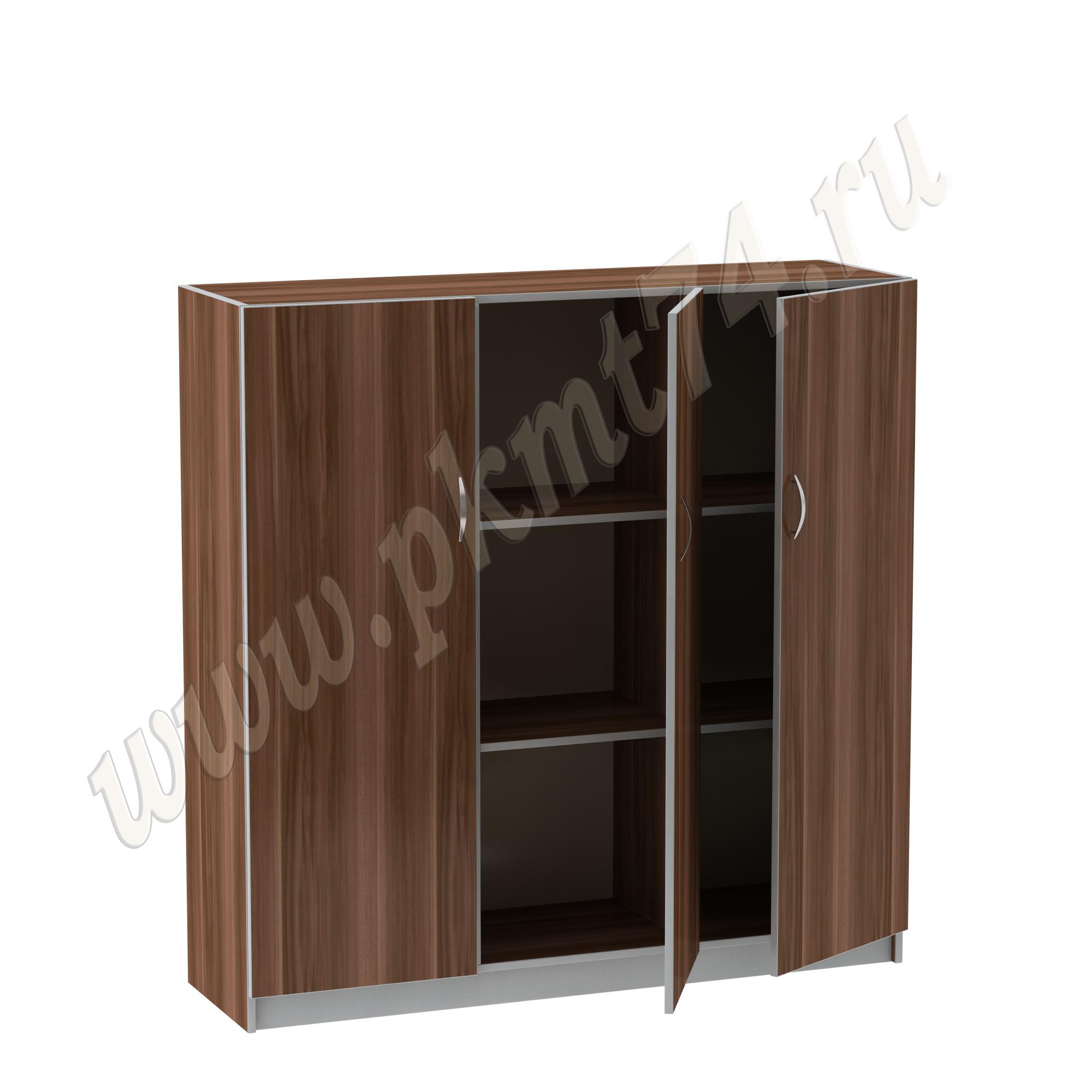 Шкаф широкий офисный MT 14-12 Слива-Алюминий